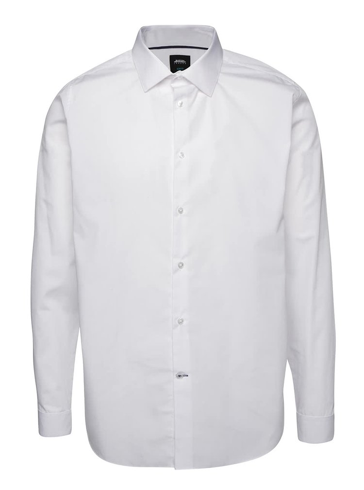 Camasa alba Burton Menswear London slim fit