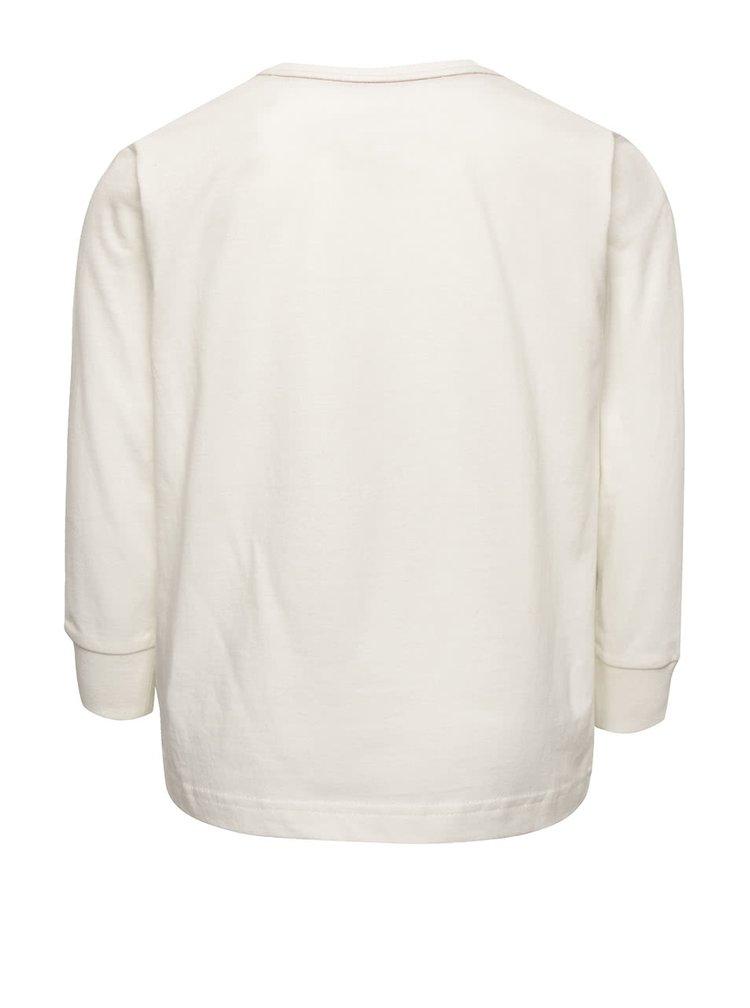 Bluza crem Quiksilver pentru baieti
