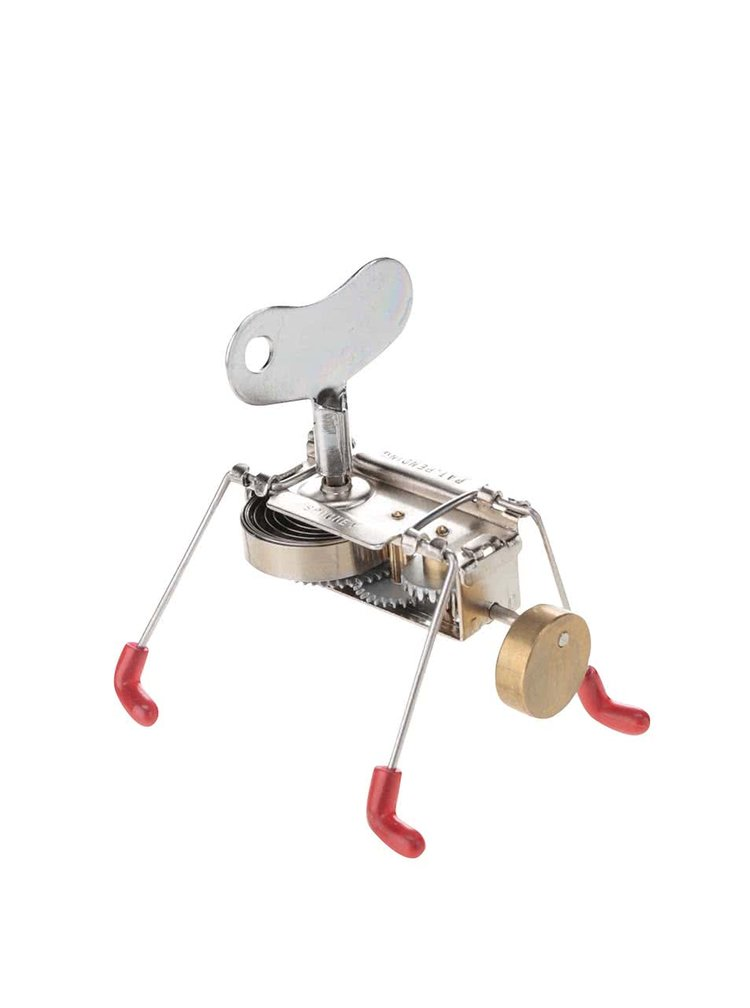 Jucărie metalică SPINNEY WIND UP Kikkerland cu cheie
