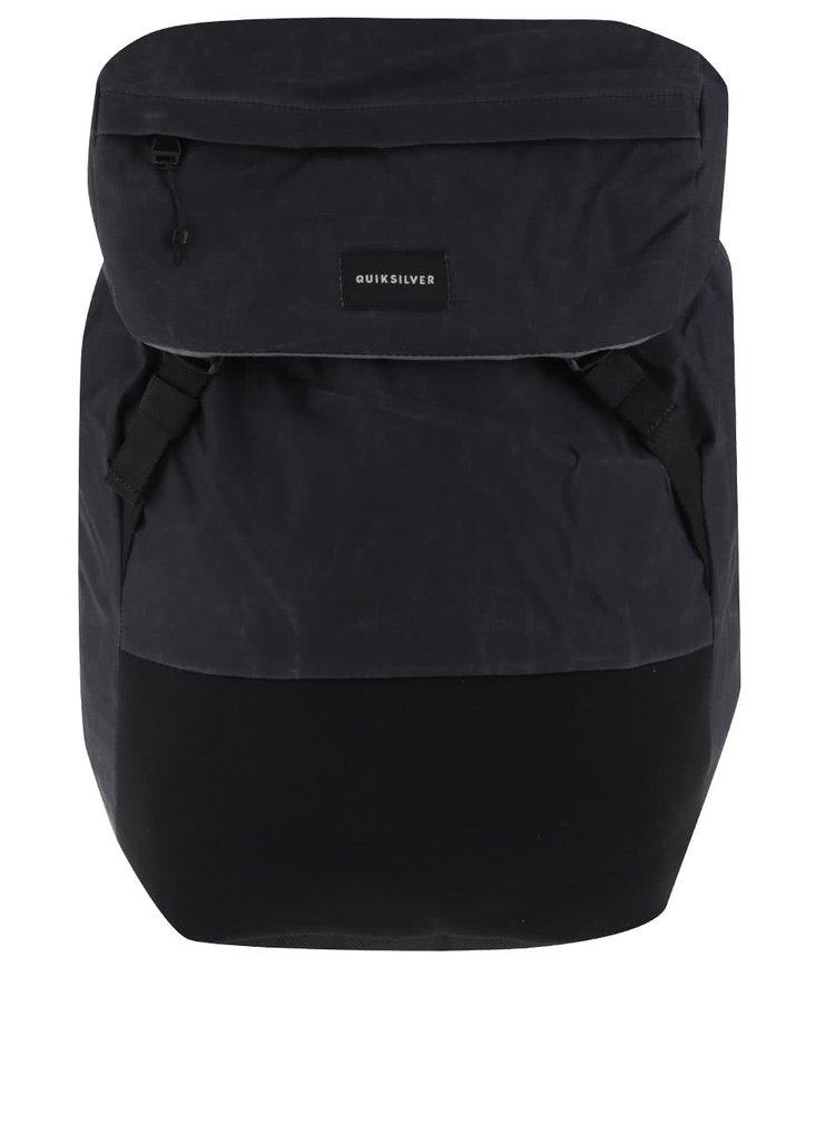 Tmavě šedý pánský batoh s logem Quiksilver Primitiv