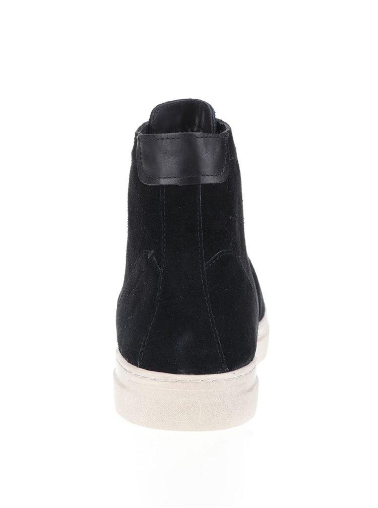 Čierne pánske semišové tenisky Vagabond Paul