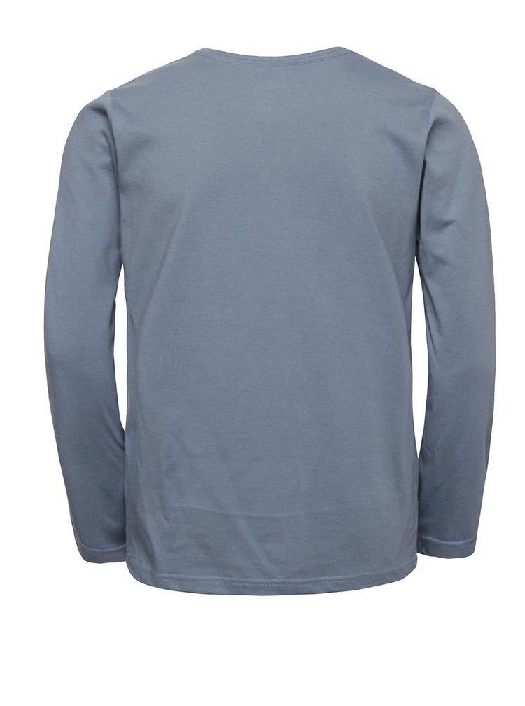 Bluza albastra Quiksilver pentru baieti