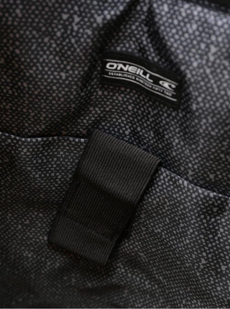 Zelený maskáčový batoh s černými detaily O'Neill Wilderness