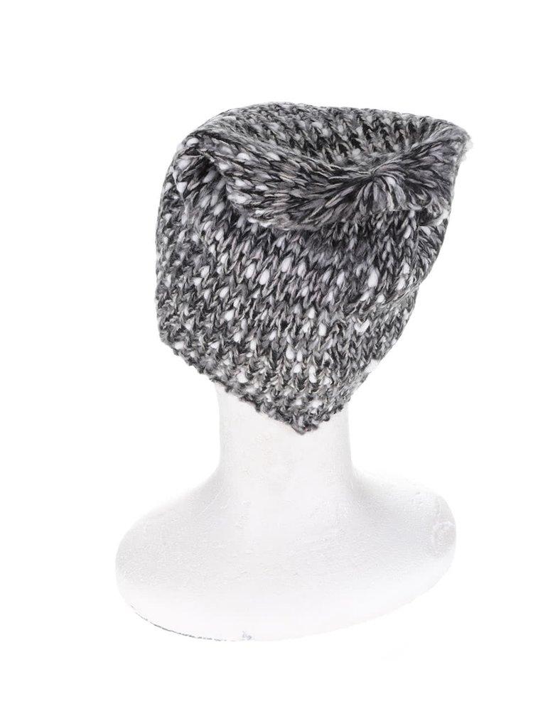 Sivo-čierna dámska čapica O'Neill Lights Out