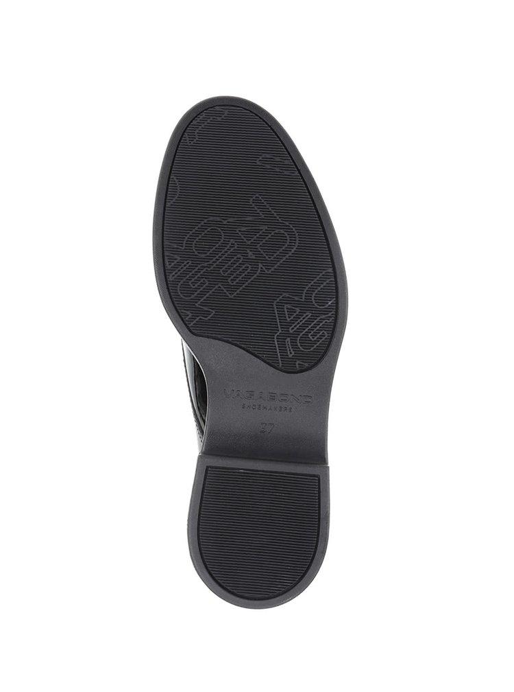 Pantofi negri lucioși Vagabond Iza