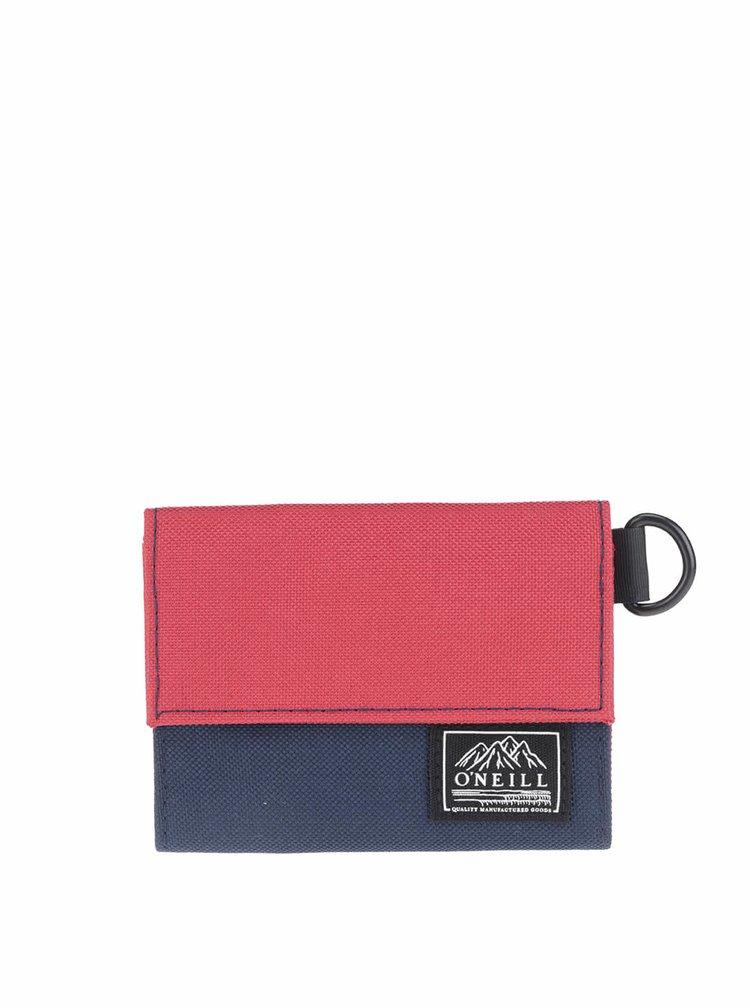Portofel O'Neill Pocket Book roșu cu albastru
