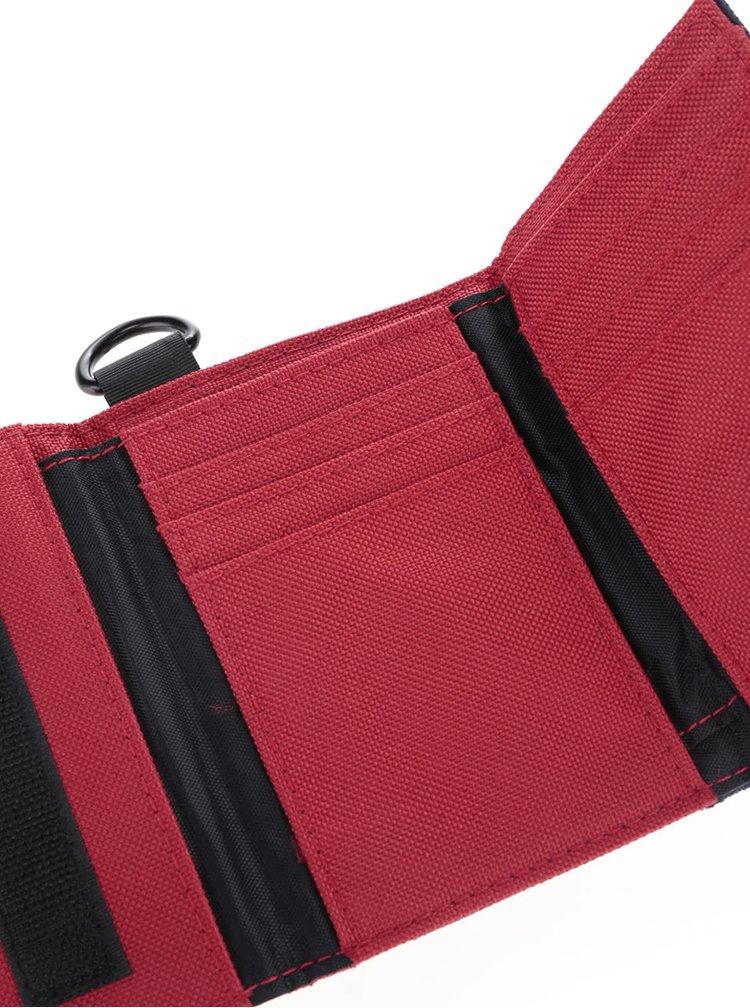 Červeno-modrá pánská peněženka s logem O'Neill Pocket Book