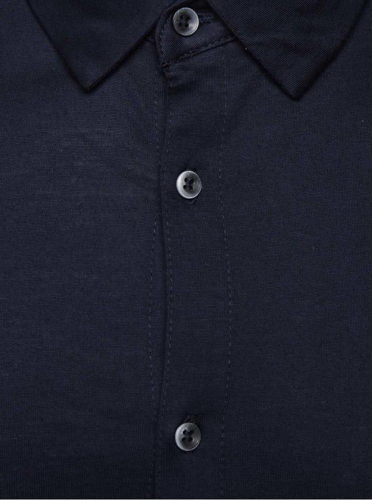 Cămașă albastru închis Burton Menswear London din bumbac