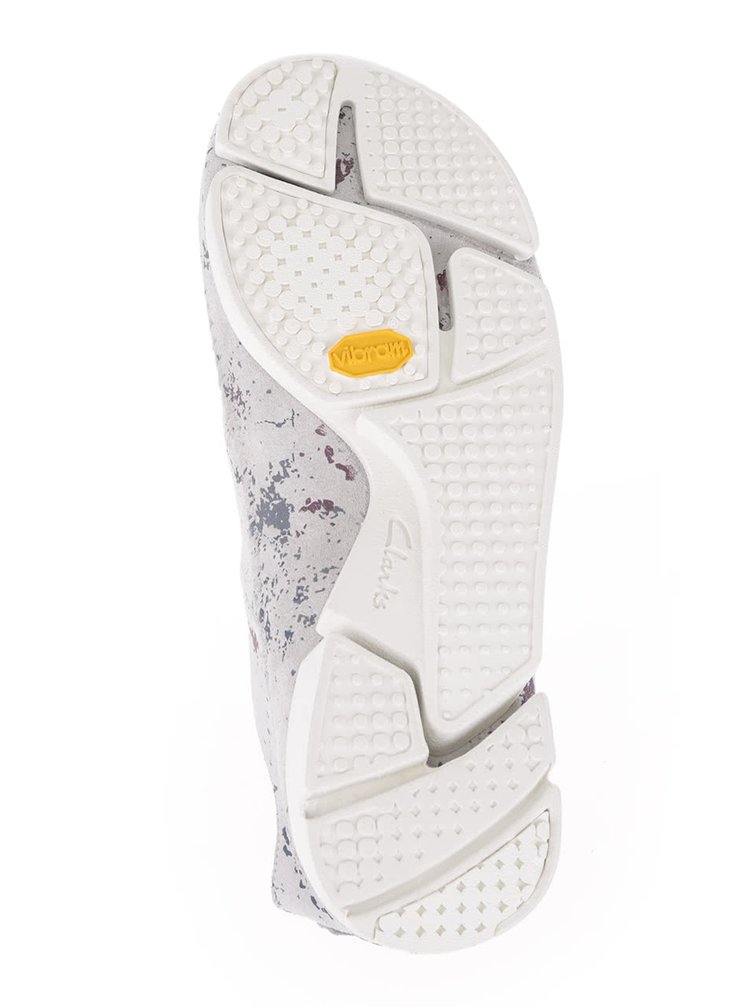 Pantofi sport gri Clarks Trigenic Flex pentru barbati