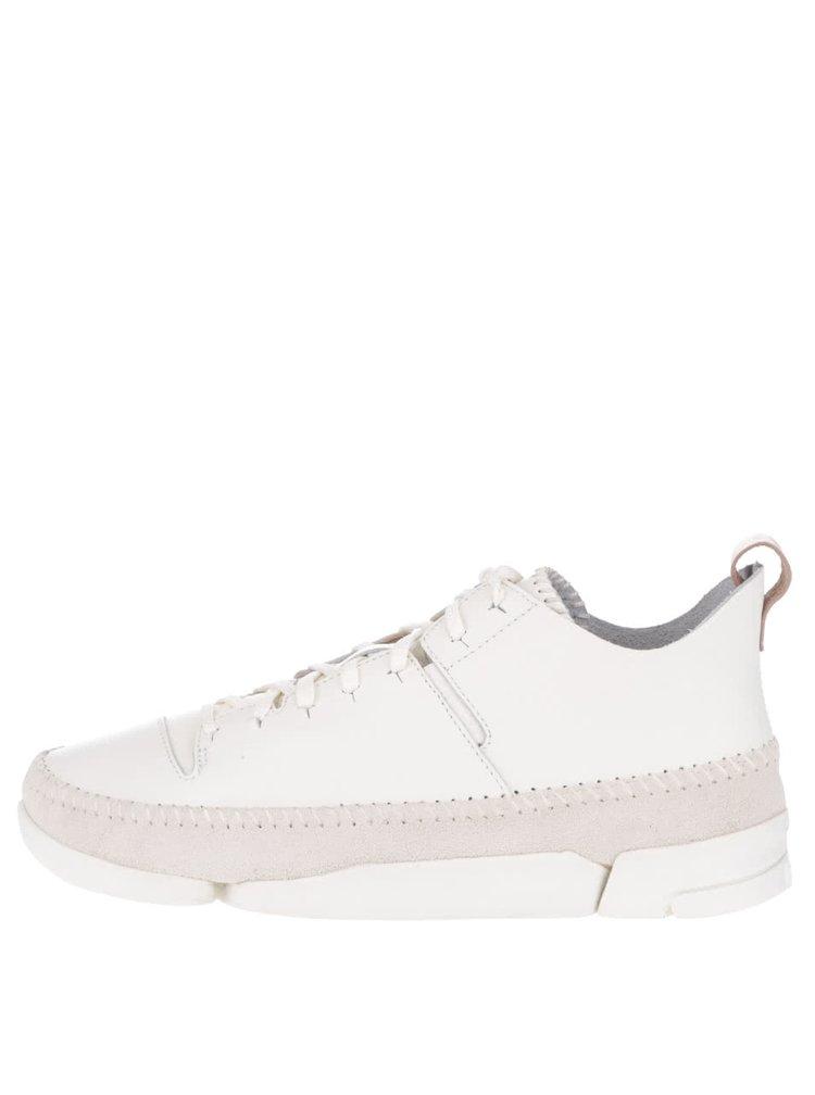 Pantofi sport crem Clarks Trigenic Flex pentru bărbați