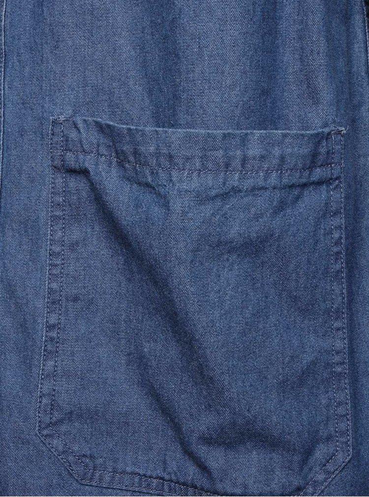 Cămașă albastră Burton Menswear London din denim