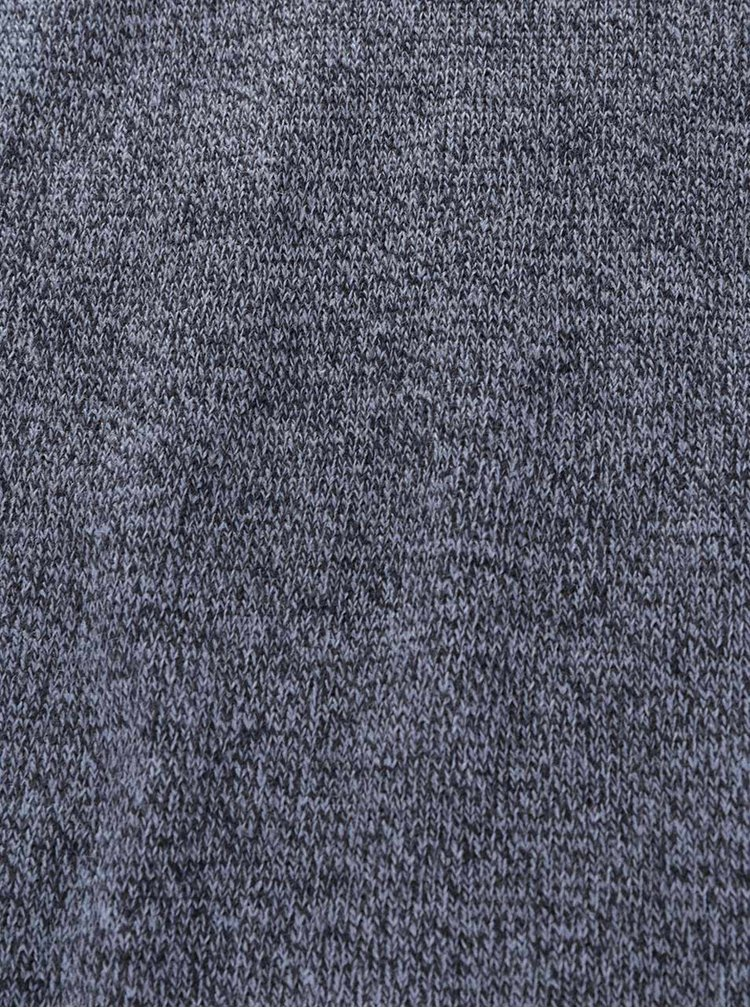Tmavě modrá dlouhá žíhaná šála ONLY & SONS Cell