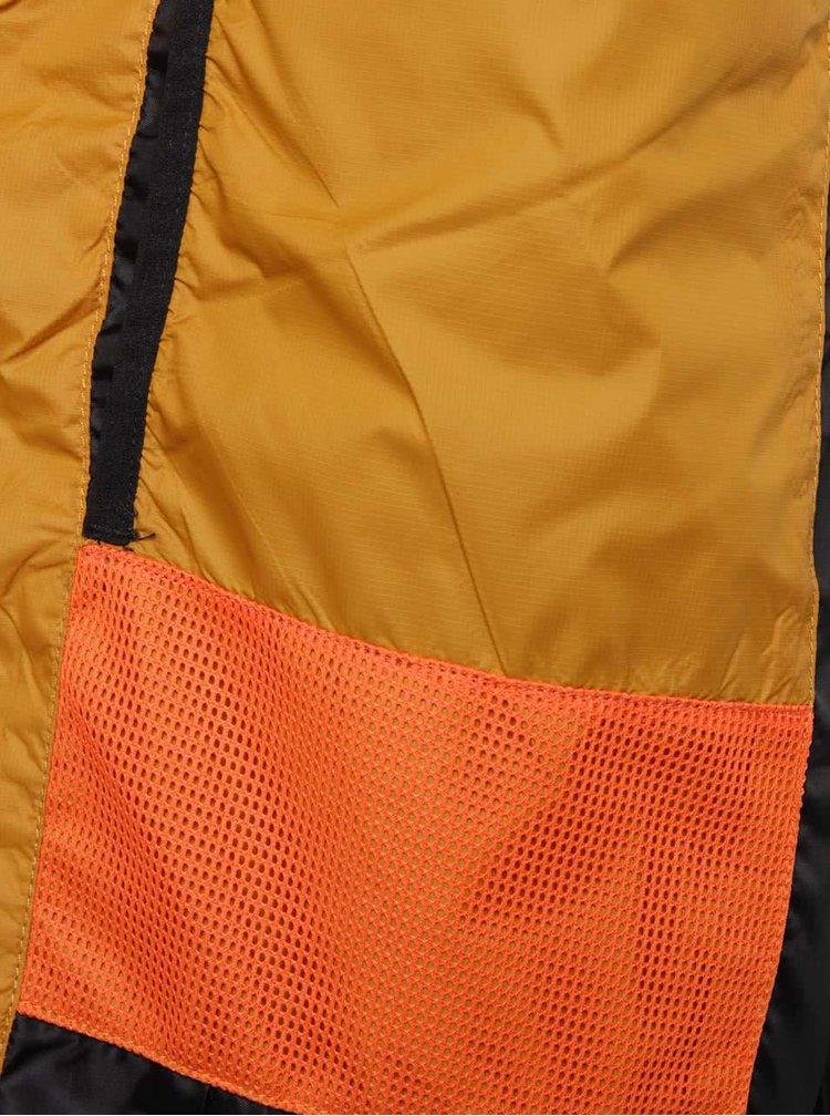 Žluto-černá pánská prošívaná bunda s kapucí Rip Curl Melt Anti Insulated