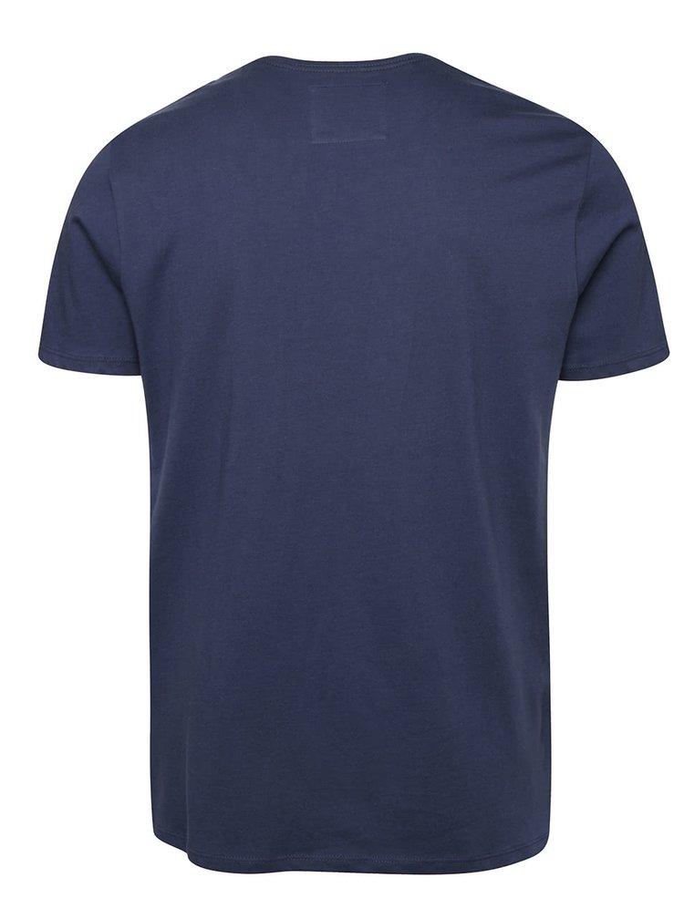 Modré pánské slim fit triko O'Neill Jack's base