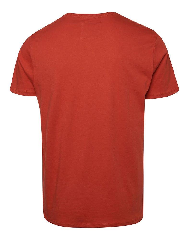 Oranžové pánské slim fit triko O'Neill Jack's base