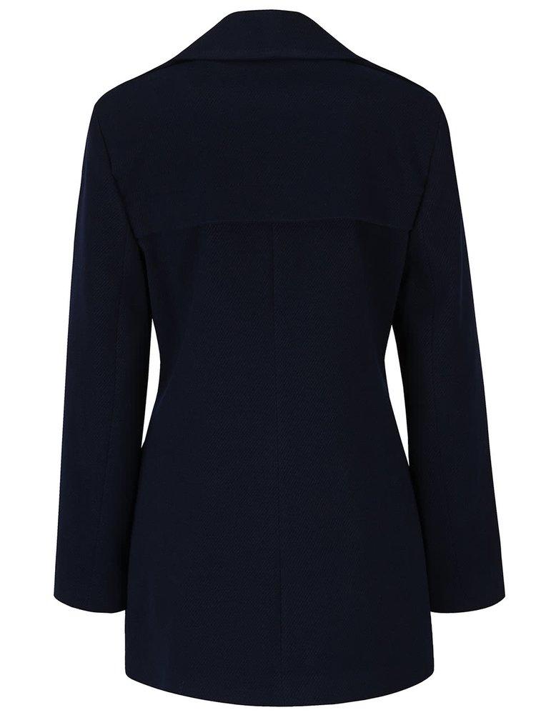 Palton albastru inchis Miss Selfridge