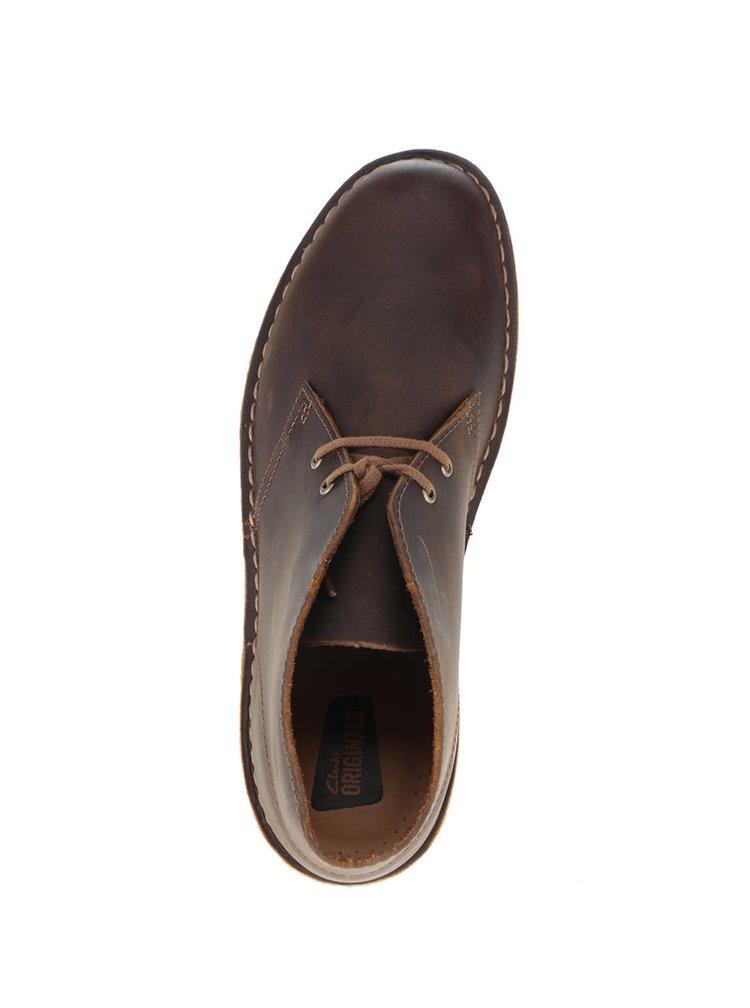 Ghete maro Clarks Desert Boot pentru barbati