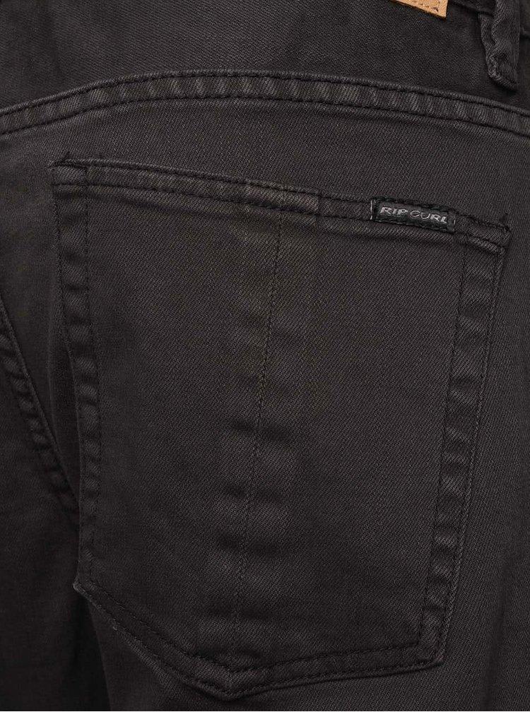 Tmavě šedé pánské džíny Rip Curl Layback