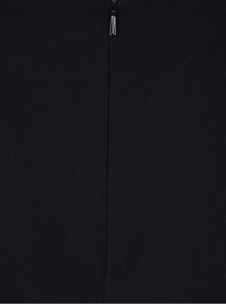 Čierny overal s čipkou na chrbte Miss Selfridge