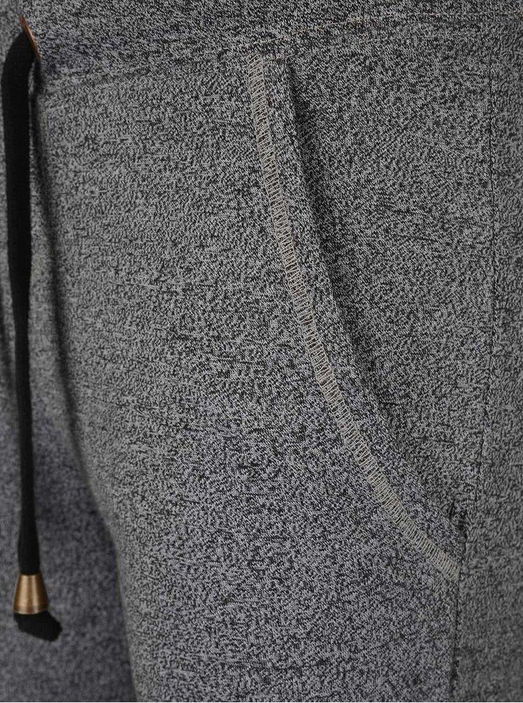 Tmavě šedé dámské žíhané tepláky O'Neill Base Jersey