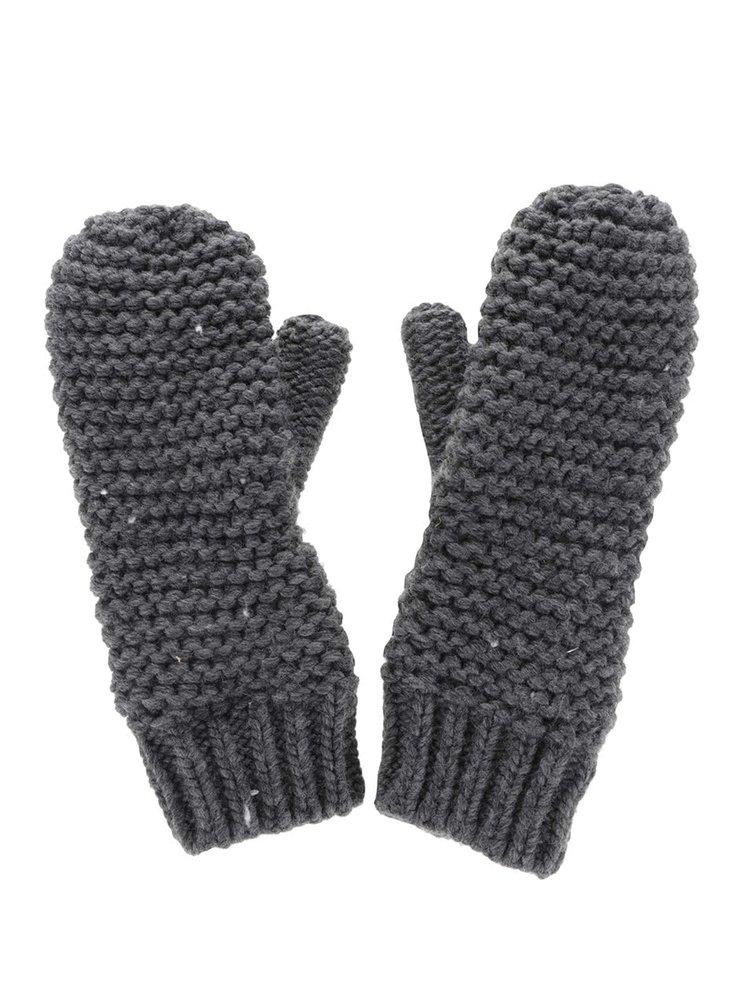 Tmavosivé rukavice ONLY Othilde
