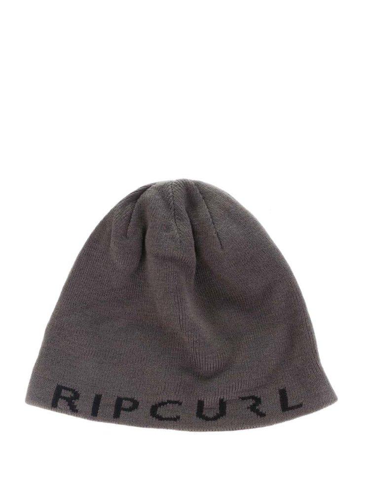 Căciulă reversibilă gri cu negru Rip Curl  Rippa Revo