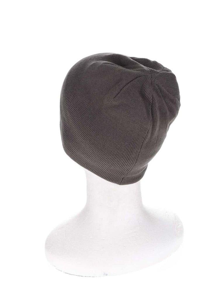 Šedo-černá pánská čepice Rip Curl  Rippa Revo Beanie