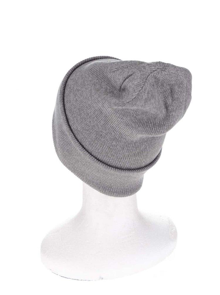 Caciula gri pentru barbati Rip Curl Rolla Up cu manseta indoita