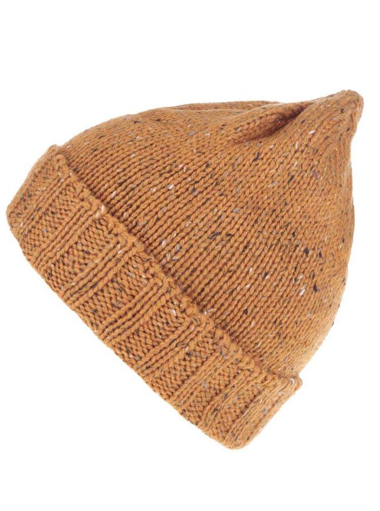 Oranžová melírovaná pánska čapica Rip Curl Redondo Beanie