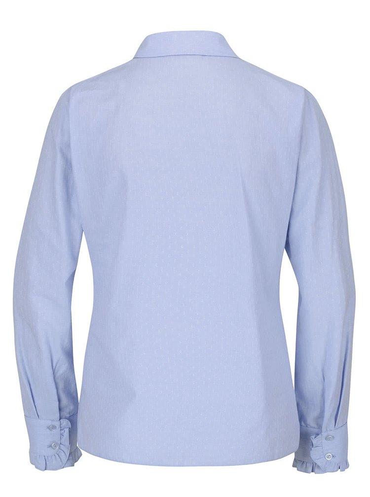 Camasa albastru deschis Dorothy Perkins cu model discret