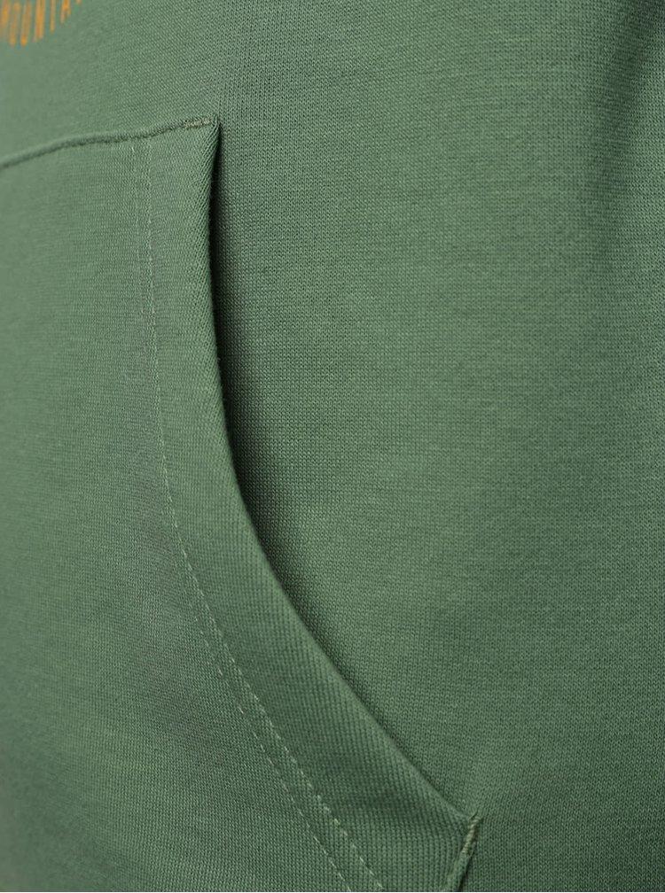 Hanorac verde Quiksilver pentru baieti