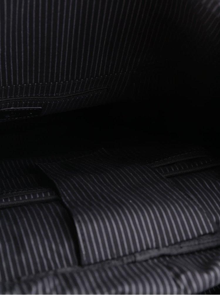 Rucsac negru Clarks Monegal cu buzunare exterioare