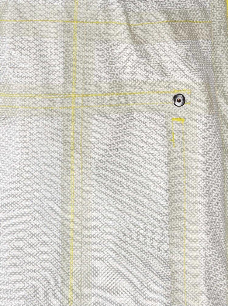 Jachetă lungă galben dechis Camilla Morch Grebbestad