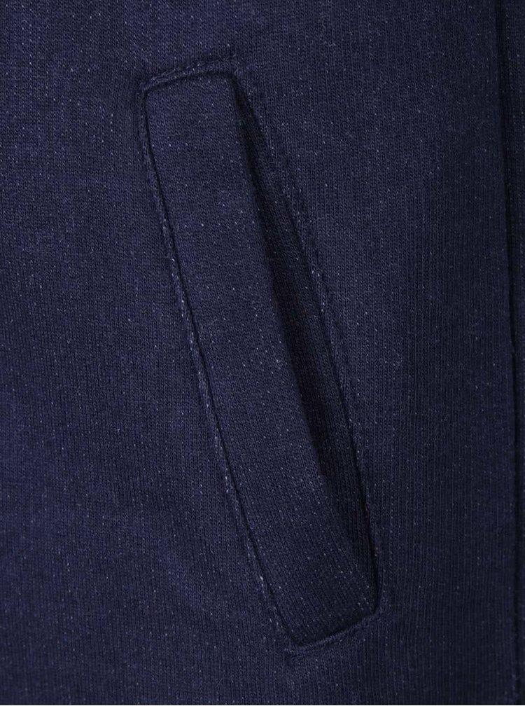Modrá chlapčenská mikina so sivými rukávmi Mix´n Match