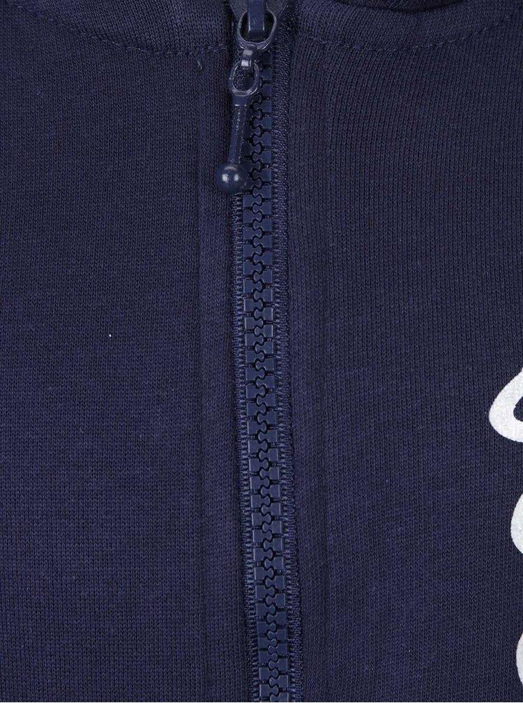 Modrá holčičí mikina s kapucí Mix´n Match