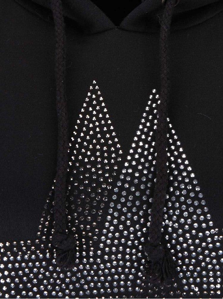 Krémovo-černá mikina s hvězdou Madonna Lee