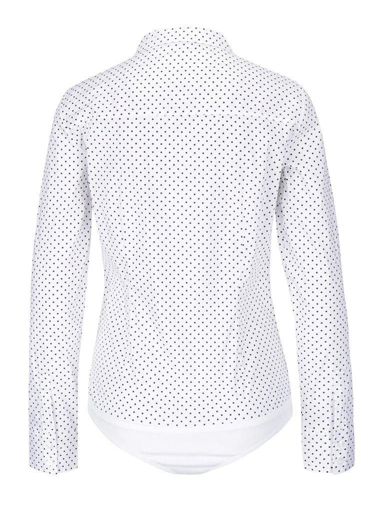 Bílá vzorovaná body košile VERO MODA Lady
