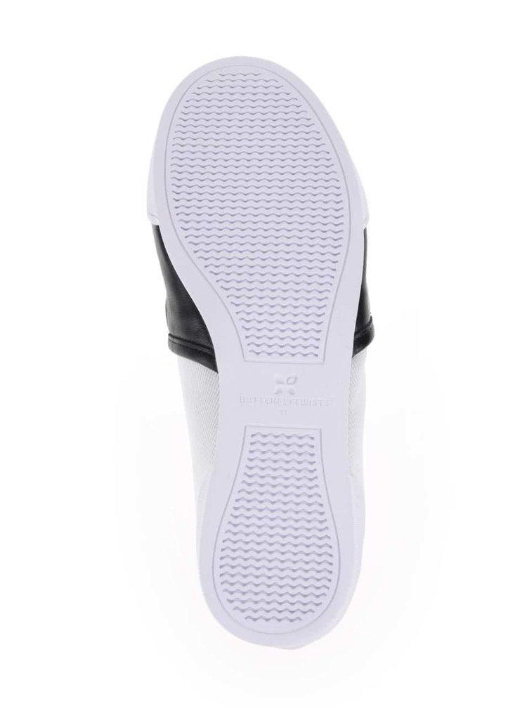Krémovo-černé kotníkové boty Butterfly Twists Madison