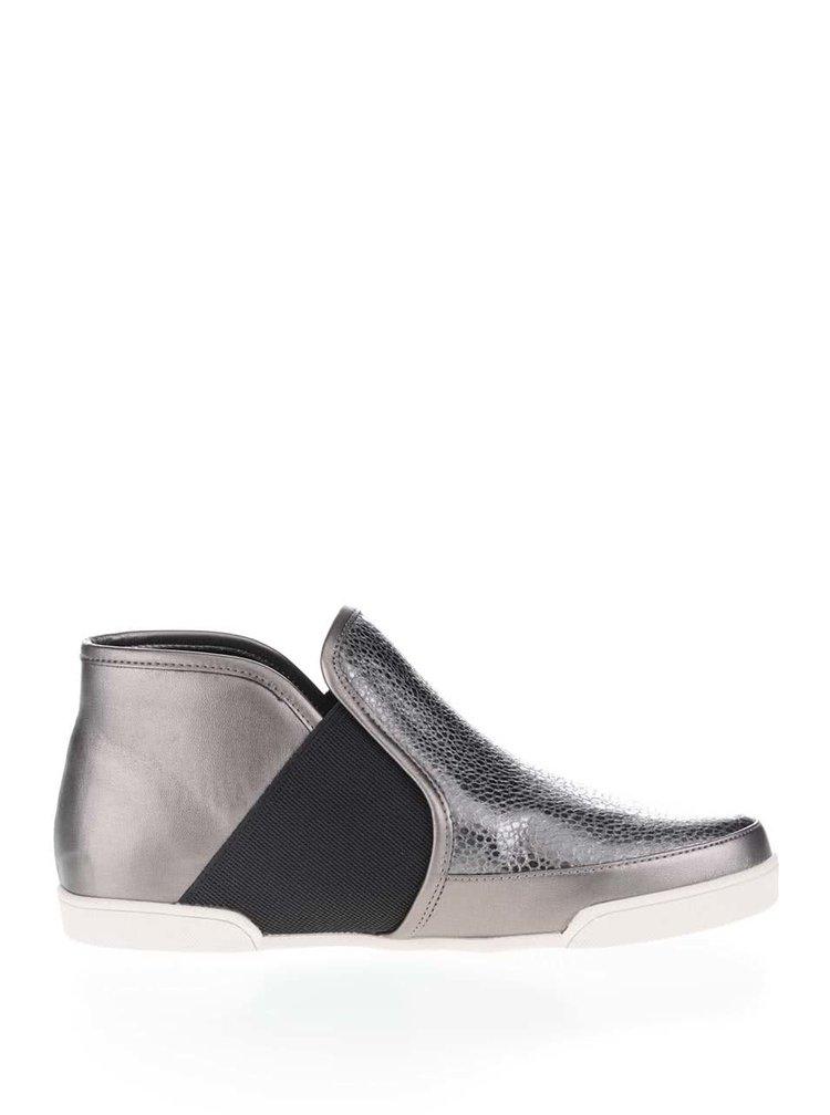 Členkové topánky v metalickej farbe Butterfly Twists Madison