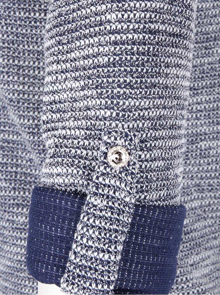 Modrobílé tričko s dlouhým rukávem Madonna Melodie