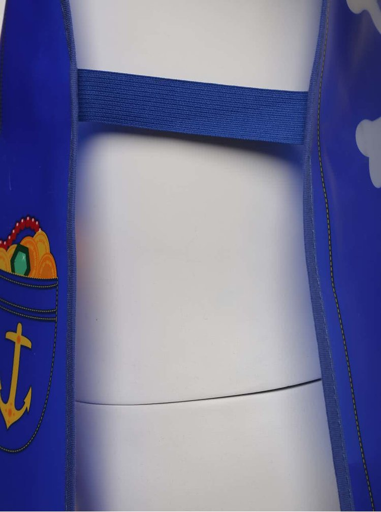 Modrá chlapčenská zástera s pirátskym motívom Cooksmart