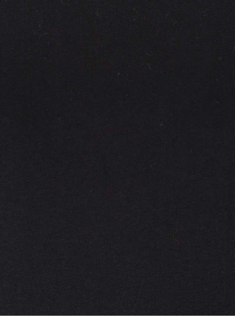 Bluză neagră cu mâneci 3/4 Dorothy Perkins