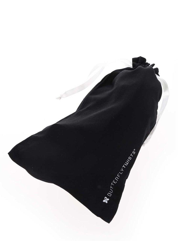 Černé baleríny do kabelky Butterfly Twists Amber