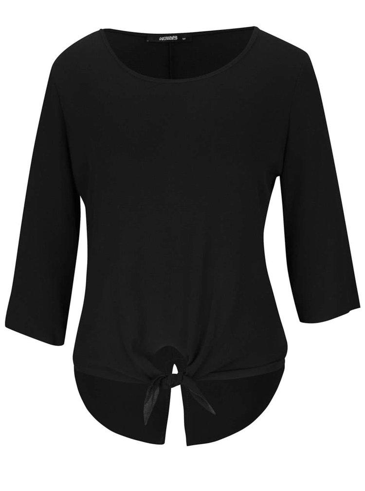 Bluza neagra Haily´s Michelle cu maneci trei sferturi