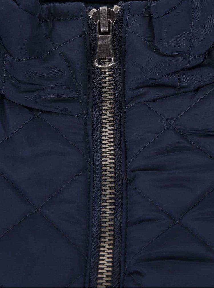 Modrá dámska prešívaná bunda PEP Sabina