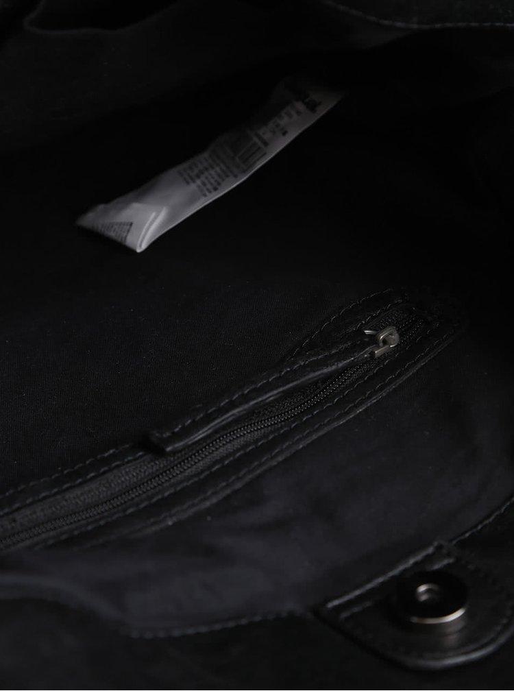 Geanta neagra Desigual Cordoba Uma cu model albastru