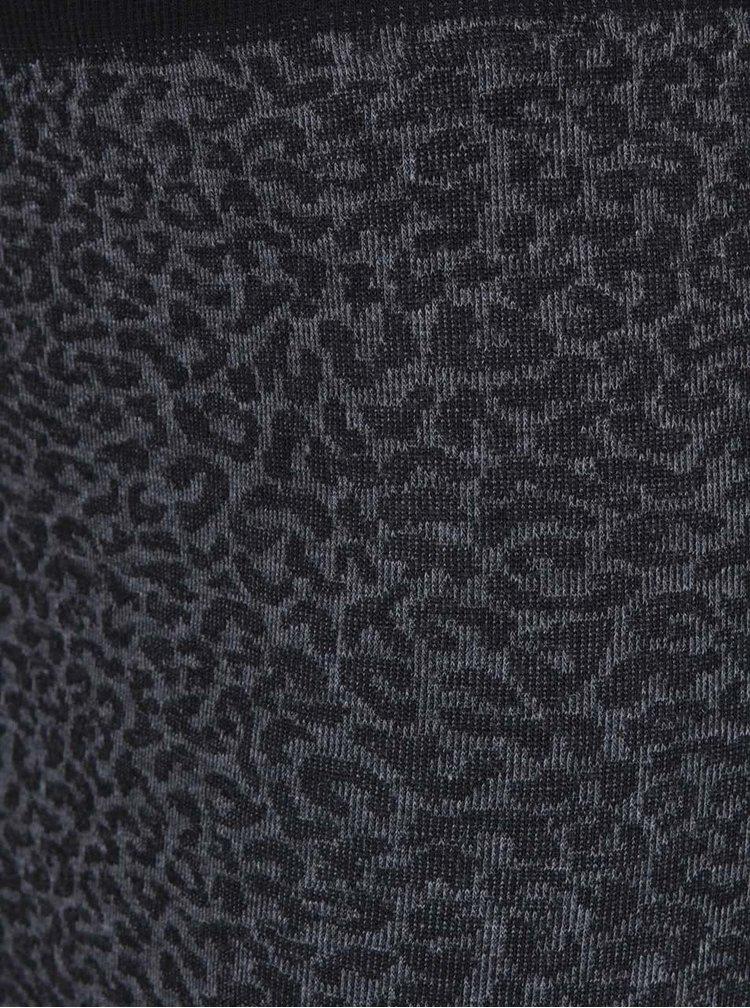 Sivá sukňa s gepardím vzorom PEP Flynn