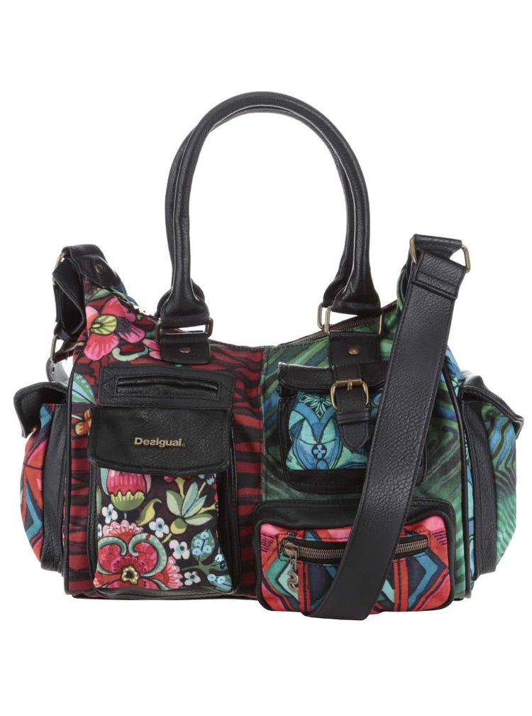 Geanta Desigual London Medium Ikara colorata
