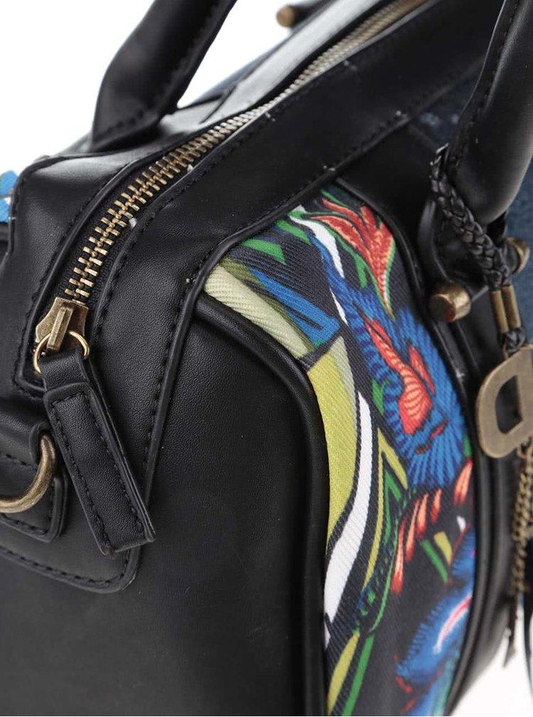 Tmavě modrá obdélníková měnší kabelka Desigual Malta Gianna