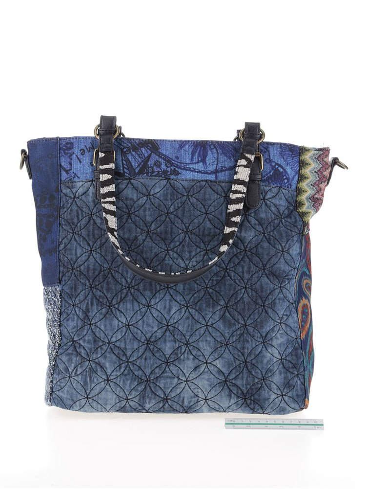 Modrá kabelka s kapsami Desigual Budapest Electra